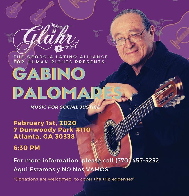 Gabino Palomares Concert
