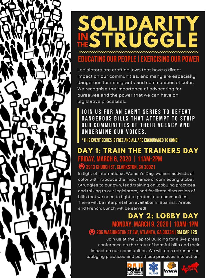 Solidarity in Struggle: Train the Trainers (Day 1)